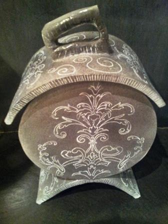 Céramique boite baroque