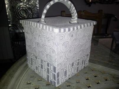 Céramique boite carrée