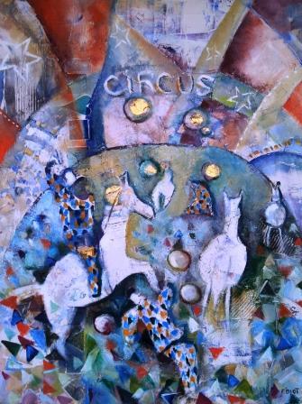 Peinture circus 1
