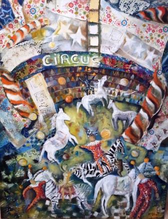 Peinture Grand Circus