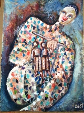 Peinture marionnetiste