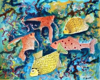 dessin poissons 2